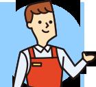 販売プロモーションの実施フローや連携方法、販売⽅法や研修実施などご納得のスキームができるまで打ち合わせさせていただきます。実施時期や準備時間・ご予算など、柔軟に対応いたしますので安心しておまかせください。
